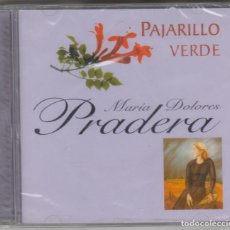 CDs de Música: MARÍA DOLORES PRADERA CD PAJARILLO VERDE 2001 COLECCIÓN HOMENAJE (PRECINTADO). Lote 206562778