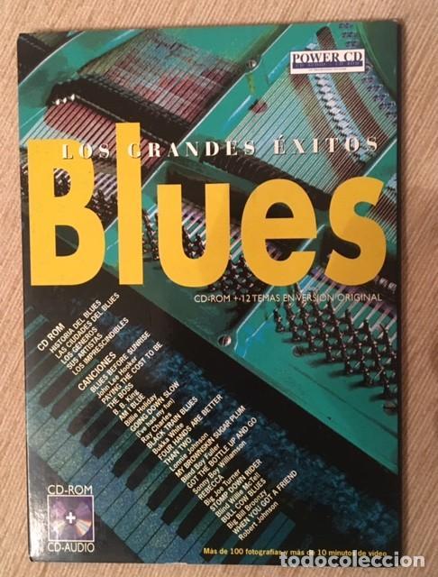BLUES - CD ROM + CD AUDIO CON 12 TEMAS DE JOHM LEE HOOKER, BB KING, RAY CHARLES... (Música - CD's Jazz, Blues, Soul y Gospel)