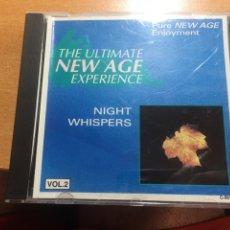 CDs de Música: CID MÚSICA THE ULTÍMATE NEW AGE EXPERIENCIA NIGHT WHISPERS VOL2. Lote 206771977
