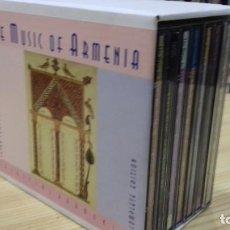 CDs de Música: RARO BOX SET 7 CDS THE MUSIC OF ARMENIA. Lote 206795242