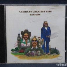CDs de Música: AMERICA - GREATEST HITS HISTORY - CD. Lote 206800167