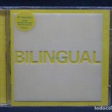 CDs de Música: PET SHOP BOYS - BILINGUAL - CD. Lote 206801246