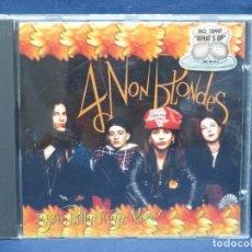 CDs de Música: 4 NON BLONDES - BIGGER, BETTER, FASTER, MORE! - CD. Lote 206801422
