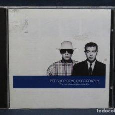 CDs de Música: PET SHOP BOYS - DISCOGRAPHY - THE COMPLETE SINGLES COLLECTION - CD. Lote 206802145