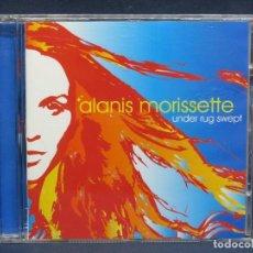 CDs de Música: ALANIS MORISSETTE - UNDER RUG SWEPT - CD. Lote 206802716
