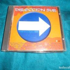 CDs de Música: DIRECCION SUR. LAS MEJORES BALADAS CON RAIZ. 2005. 2 CD´S.. Lote 206803345