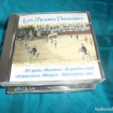 CDs de Música: LOS MEJORES PASODOBLES. BANDA ESPAÑOLA DE CONCIERTOS. DOBLON, 1990. CD . IMPECABLE. Lote 206803732