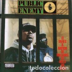 CDs de Música: PUBLIC ENEMY - IT TAKES A NATION OF MILLIONS TO HOLD US BACK (CD, ALBUM, ENH, RE, RM) LABEL:DEF JAM. Lote 206815550