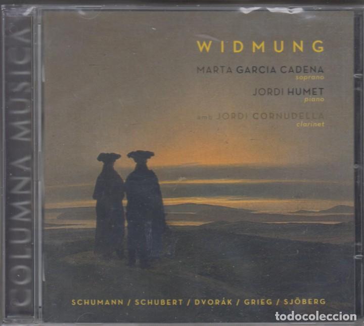 WIDMUNG CD MARTA GARCÍA JORDI HUMET 2012 SCHUMANN SCHUBERT DVORAK SJOBERG (PRECINTADO) (Música - CD's Clásica, Ópera, Zarzuela y Marchas)