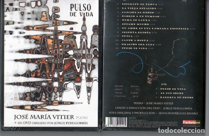 PULSO DE VIDA JOSE MARIA VITIER PIANO CD+DVD (Música - CD's Clásica, Ópera, Zarzuela y Marchas)