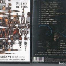 CDs de Música: PULSO DE VIDA JOSE MARIA VITIER PIANO CD+DVD. Lote 206819568