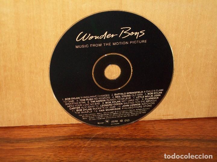 WONDER BOYS - BSO - ARTISTAS VARIOS - SOLO CD SIN CARATULAS, NI CAJA COMO NUEVO (Música - CD's Bandas Sonoras)