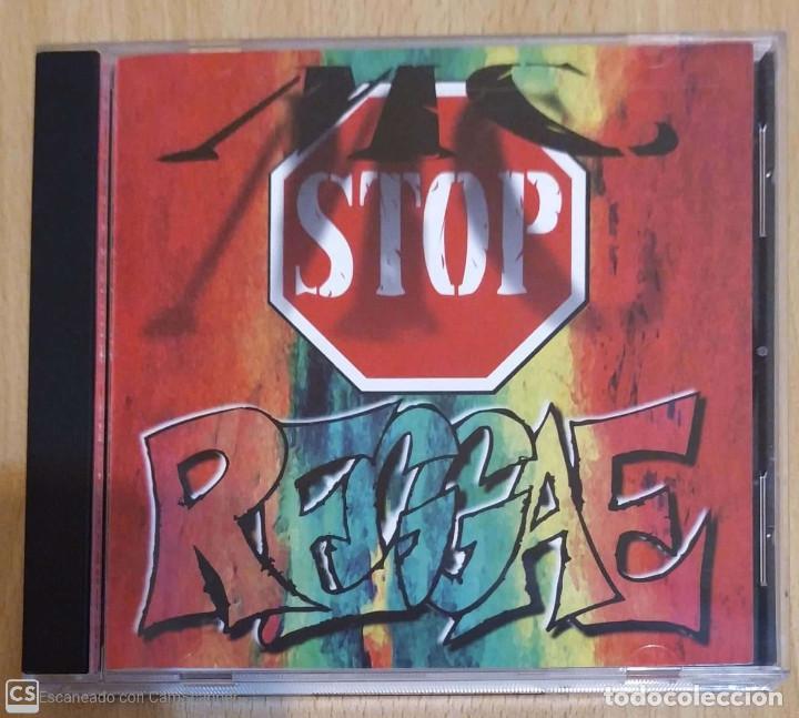 MC STOP REGGAE - CD 1995 USA (FRANKIE BOY, ORIGINAL Q., EL MEJICANO, LEGEND..) DIFICI DE CONSEGUIR (Música - CD's Reggae)