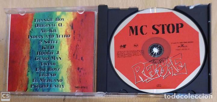 CDs de Música: MC STOP REGGAE - CD 1995 USA (FRANKIE BOY, ORIGINAL Q., EL MEJICANO, LEGEND..) Difici de Conseguir - Foto 3 - 206826531