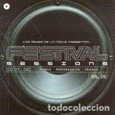 CDs de Música: VARIOUS - FESTIVAL SESSIONS VOL. 3 (4XCD, COMP) LABEL:VALE MUSIC CAT#: VLCD 192-1. Lote 206829726