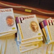 CDs de Música: LA GRAN MÚSICA DEUTSCHE GRAMMOPHON PASO A PASO. Lote 206834305