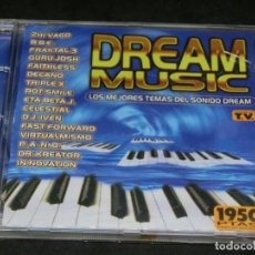 CDs de Musique: CD - DREAM MUSIC - LOS MEJORES TEMAS DEL SONIDO DREAM - 1996 - VARIOS - GURU JOSH -. Lote 206837882