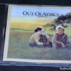 CDs de Música: CD - MEMORIAS DE ÁFRICA - BSO - JOHN BARRY - 1986 - BANDA SONORA ORIGINAL - OUT OF AFRICA. Lote 206838172