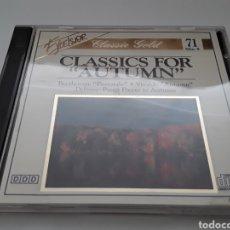 "CDs de Música: CLASSIC FOR AUTUMN / BEETHOVEN ""PASTORALE"" ▪ VIVALDI "" AUTUMN "" ▪ CD ORIGINAL. Lote 206847025"