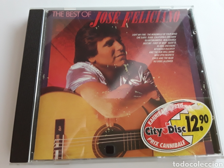 THE BEST OF JOSÉ FELICIANO / CD ORIGINAL (Música - CD's Melódica )