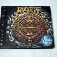 CDs de Música: CD RAGE - BLACK IN MIND. Lote 206855838