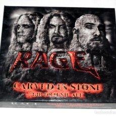 CDs de Música: CD BOX RAGE - CARVED IN STONE / GIB DICH NIE AUF. Lote 206863852
