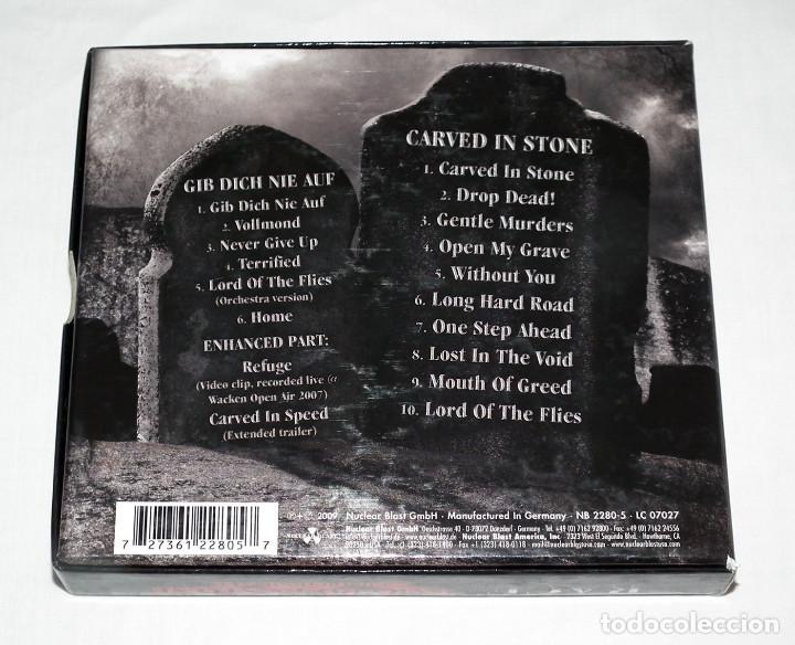 CDs de Música: CD BOX RAGE - CARVED IN STONE / GIB DICH NIE AUF - Foto 3 - 206863852