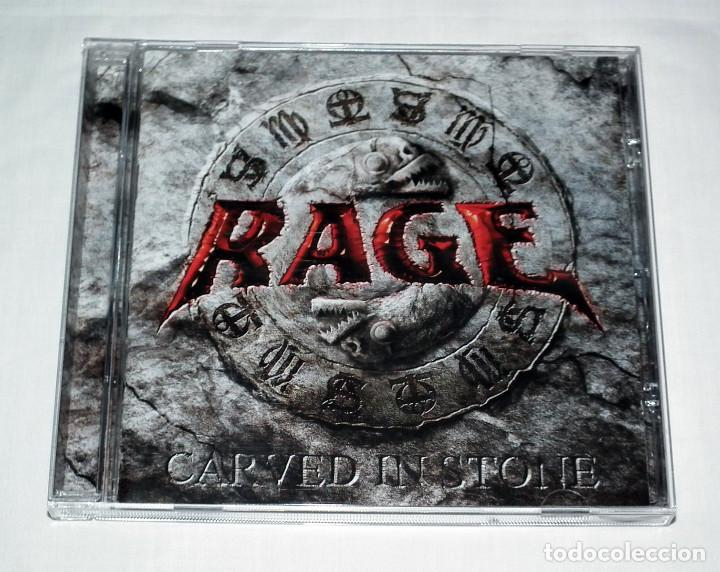 CDs de Música: CD BOX RAGE - CARVED IN STONE / GIB DICH NIE AUF - Foto 5 - 206863852
