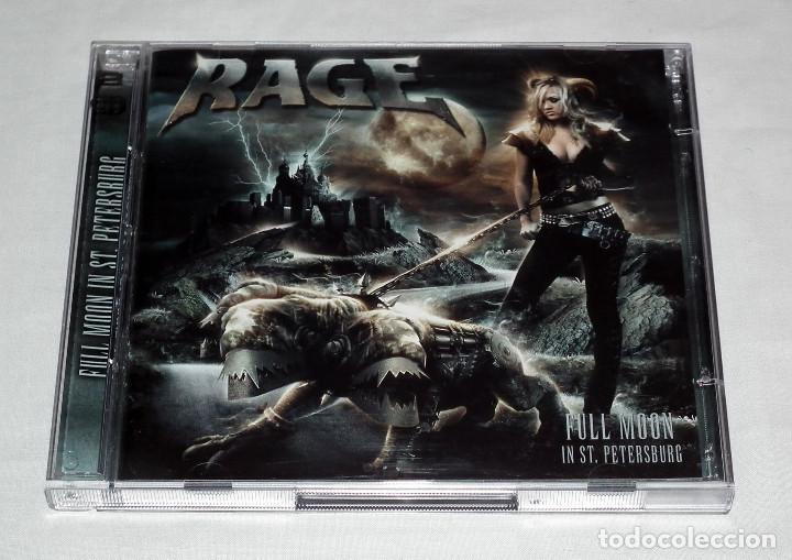 CD RAGE - FULL MOON IN ST. PETERSBURG (Música - CD's Heavy Metal)