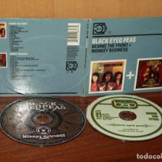 CDs de Música: BLACK EYED PEAS - BEHIND THE FRONT + MONKEY BUSSINES - DOBLE CD DIGIUPACK COMO NUEVO. Lote 206881933