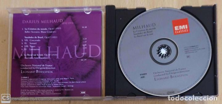 CDs de Música: Milhaud, Orchestre National De France, Leonard Bernstein (La Création Du Monde...) CD 1998 - Foto 3 - 206901335