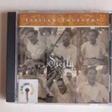 CDs de Música: SICILY. ITALIAN TREASURY. 2000 USA. NO PROBADO.. Lote 206904906