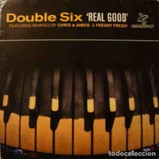 CDs de Música: CD DOUBLE SIX REAL GOOD FEATURING REMIX BY SOUL OF MAN. Lote 206907490