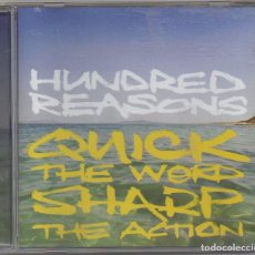 CDs de Música: HUNDRED REASONS - QUICK THE WORD SHARP THE ACTION / CD ALBUM DEL 2007 / MUY BUEN ESTADO RF-5994. Lote 206908937