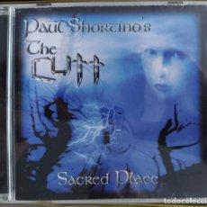 CDs de Música: PAUL SHORTINO'S THE CUTT - SACRED PLACE (CD, ALBUM) (MUSICWORKS ENTERTAINMENT STUDIO) MWE35 (D:NM). Lote 206910141