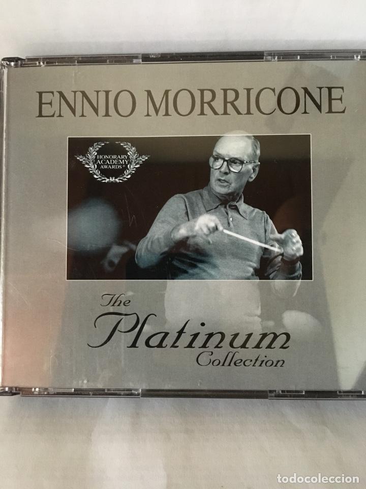 ENNIO MORRICONE-THE PLATINUM COLLECTION-3 CD-2007-EN CAJA GRANDE-EXCELENTE ESTADO (Música - CD's Bandas Sonoras)