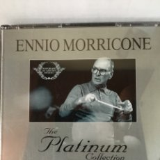 CDs de Música: ENNIO MORRICONE-THE PLATINUM COLLECTION-3 CD-2007-EN CAJA GRANDE-EXCELENTE ESTADO. Lote 206914901