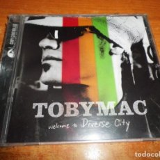 CDs de Música: TOBYMAC WELCOME TO DIVERSE CITY CD ALBUM PRECINTADO 2004 ARGENTINA DUO DE TALK 16 TEMAS. Lote 206930778