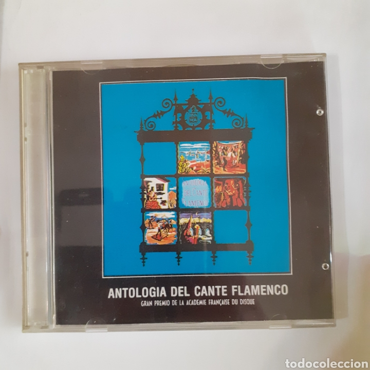 ANTOLOGIA DEL CANTE FLAMENCO. 2 CDS. 1988. NO PROBADO. (Música - CD's Flamenco, Canción española y Cuplé)