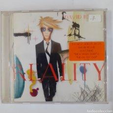 CDs de Música: DAVID BOWIE. REALITY. 2003. NO PROBADO.. Lote 206981750
