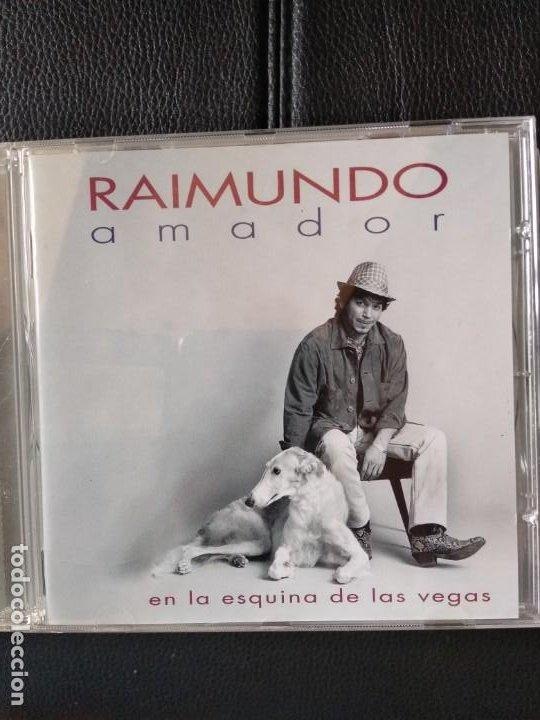 RAIMUNDO AMADOR - EN LA ESQUINA DE LAS VEGAS (Música - CD's Flamenco, Canción española y Cuplé)