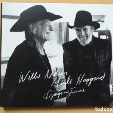 CDs de Música: WILLIE NELSON MERLE HAGGARD - DJANGO AND JIMMIE. (CD). Lote 206991387
