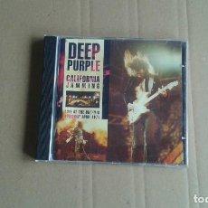 CDs de Música: DEEP PURPLE - CALIFORNIA JAMMING LIVE AT THE ONTARIO SPEEDWAY 1974 CD 1976. Lote 206996490