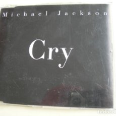 CDs de Música: CRY MICHAEL JACKSON CD SINGLE. Lote 207001303