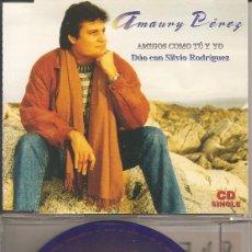 CDs de Musique: AMAURY PEREZ CON SILVIO RODRIGUEZ - AMIGOS COMO TU Y YO (CDSINGLE CAJA, CRIN RECORDS 1997). Lote 207017075