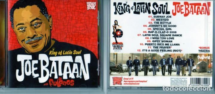 JOE BATAAN WHIT LOS FULANOS KING F LATIN SOUL (Música - CD's Jazz, Blues, Soul y Gospel)