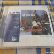 CDs de Música: NAT KING COLE AND HIS TRIO AFTER MIDNIGHT - CAPITOL JAZZ JV-102. Lote 207028173