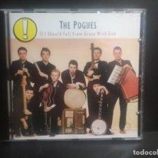 CDs de Música: THE POGUES IF I SHOULD FALL GRACE WITH GOD CD ALBUM 1988 WEA PEPETO. Lote 207035362