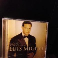 CDs de Música: LUIS MIGUEL,MIS ROMANCES WEA 2001. Lote 207044098