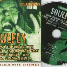 CDs de Música: ROCK SOUND, Nº31 SOULFLY - RANCID - QUEENS OF TEH STONE AGE - MUSE - B-VIOLET - LIBERATOR - MAINE... Lote 207045410